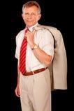 Portrait of elderly businessman Royalty Free Stock Image