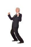 Portrait of an elderly businessman Royalty Free Stock Image