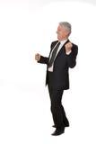 Portrait of an elderly businessman Stock Image