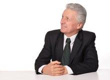 Portrait of an elderly businessman Stock Photography