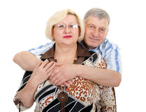 Portrait of an elderly couple Stock Photography