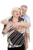 Portrait of an elderly couple Royalty Free Stock Photos