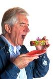 Portrait of an elderly man Stock Images