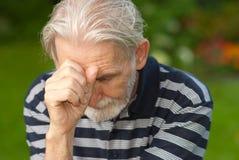 Portrait of elderly man Royalty Free Stock Photo