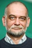 Portrait of the elderly man royalty free stock photo