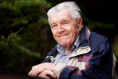 Portrait Elderly Man Royalty Free Stock Photo