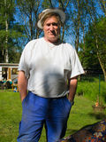 Portrait of elderly man royalty free stock images