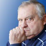 Portrait of the elderly man Stock Photo