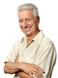 Portrait of elderly man Stock Photo