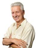 Portrait of elderly man Stock Photo