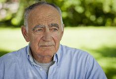 Portrait of A Elderly man Royalty Free Stock Photo