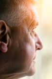 Portrait of Elderly man Stock Images