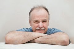 Portrait of the elderly man Royalty Free Stock Photography