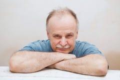 Portrait of the elderly man Royalty Free Stock Image
