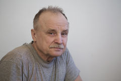 Portrait of the elderly man Stock Image