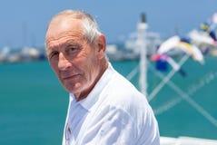 Portrait of an elderly man Stock Image