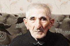 Portrait of elderly senior man Stock Photography
