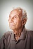 Portrait of elderly senior men Stock Photography