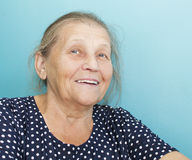 Portrait of the elderly woman. Royalty Free Stock Photos