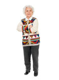 Portrait of an elderly woman Royalty Free Stock Photography
