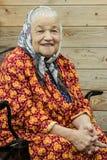 Portrait of elderly woman Royalty Free Stock Photos
