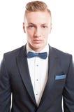 Portrait of an elegant blond male model Stock Image