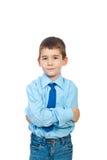 Portrait of elegant boy stock images
