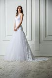Portrait of elegant bride Royalty Free Stock Image