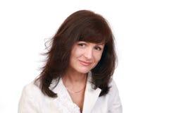 Portrait elegant business-woman Royalty Free Stock Image