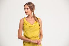 Portrait of elegant fashion woman Stock Image