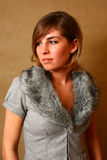 Portrait of an elegant girl Stock Photo