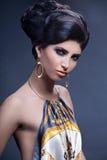 Portrait of elegant woman Stock Image