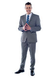 Portrait of an elegant young businessman Royalty Free Stock Photo