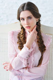Portrait of an elegant young girl Royalty Free Stock Photos