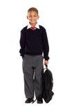 Portrait of elementary pupil Stock Image