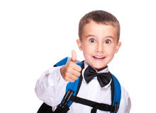 Portrait of elementary school boy Stock Image