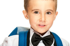 Portrait of elementary school boy Stock Photo