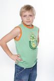 Portrait of the eleven-year boy. Glory Stock Photo