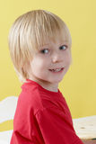 Portrait of emotional boy Royalty Free Stock Images