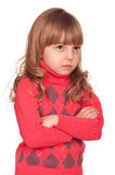 Portrait of emotionally kid Stock Photo