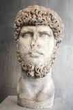 Portrait of the emperor Lucius Verus. Portrait of the ancient emperor Lucius Verus Royalty Free Stock Images