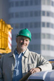 A portrait of an engineer Stock Photography
