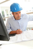 Portrait of engineer at work Royalty Free Stock Image