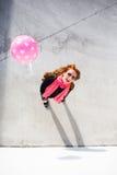 Portrait ensoleillé urbain Photos libres de droits