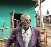 Portrait of Ethiopian man Royalty Free Stock Photos