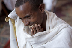 Portrait of an Ethiopian man Royalty Free Stock Photos