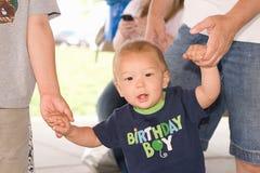 Portrait of Ethnic Baby Stock Images