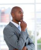 Portrait of an ethnic charismatic businessman Stock Images