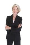 Portrait of excited businesswoman Stock Photos