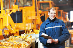 Portrait of experienced industrial engineer Stock Photo